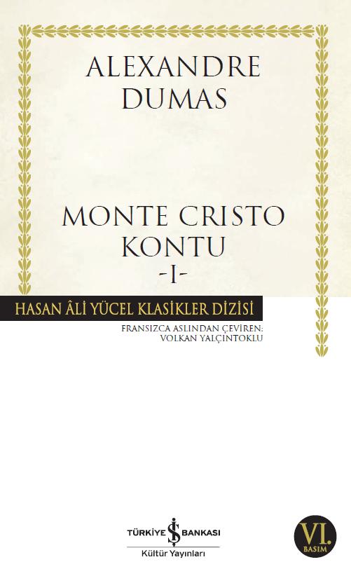 Monte Cristo Kontu – 2 Cilt